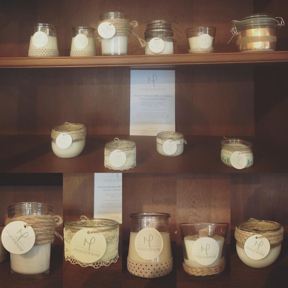 nouveau magnifiques bougies parfum es 100 naturelles chez mamie picerie bio vrac sans. Black Bedroom Furniture Sets. Home Design Ideas